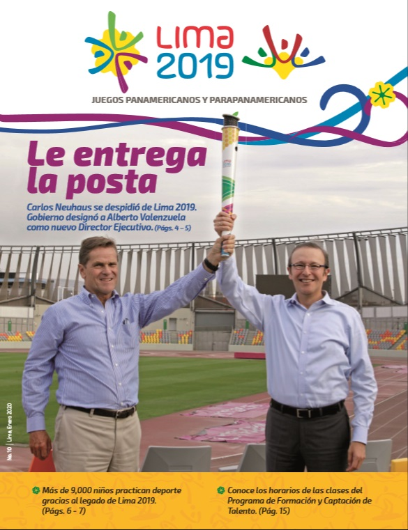 Revista Enero 2020 : Le entrega la posta
