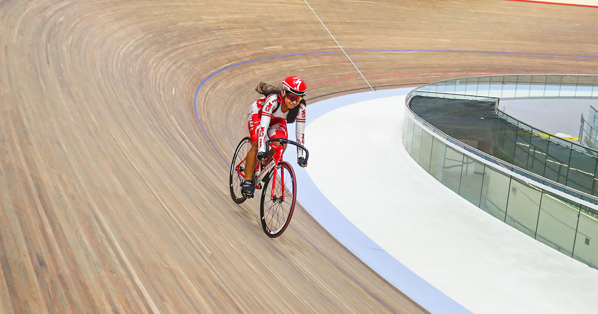 VIDENA's velodrome was built with African wood