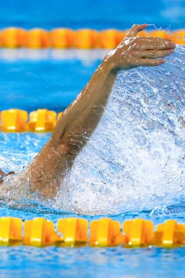 Daniel Giraldo wins gold medal in the Para swimming final at the Lima 2019 Parapan American Games, in the National Sports Village – VIDENA