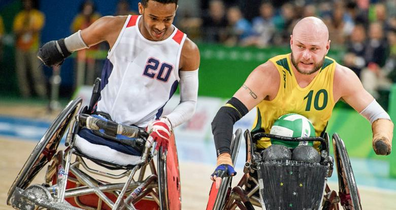 Wheelchair rugby, Lima 2019 Para sport