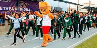 Milco at the Regional Stage of the National School Sports Games