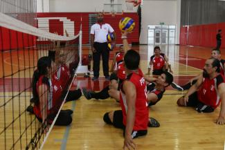 Lima 2019 Parapan American Games Peru Faces Off Brazil In Men S Sitting Volleyball
