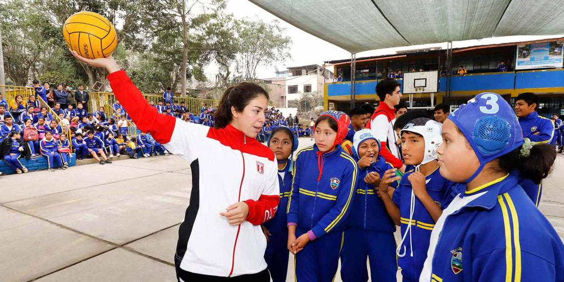 """Soy Lima 2019"" promotes sports and the Pan American and Parapan American values"